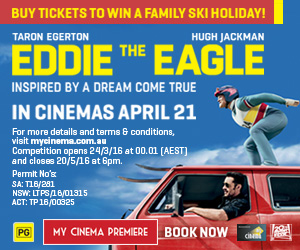 My Cinema Eddie the Eagle Premiere and Promotion