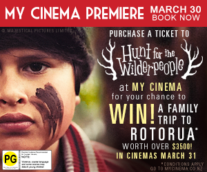 My Cinema NZ Wilderpeople Premiere and Promotion