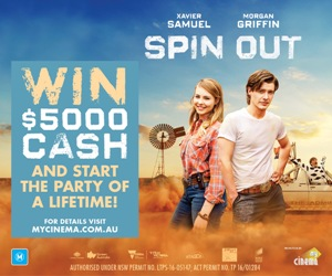 My Cinema Spin Out Promotion